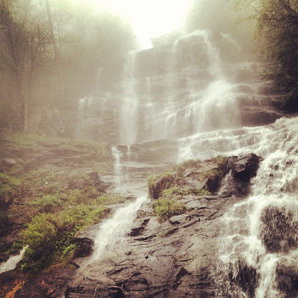 Misty Eyed, Amicolola Falls