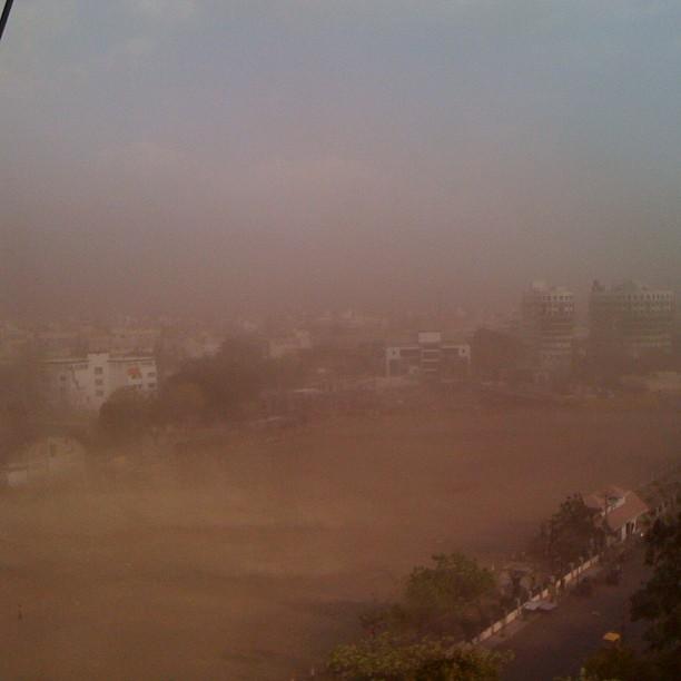 Duststorm, Rajkot India