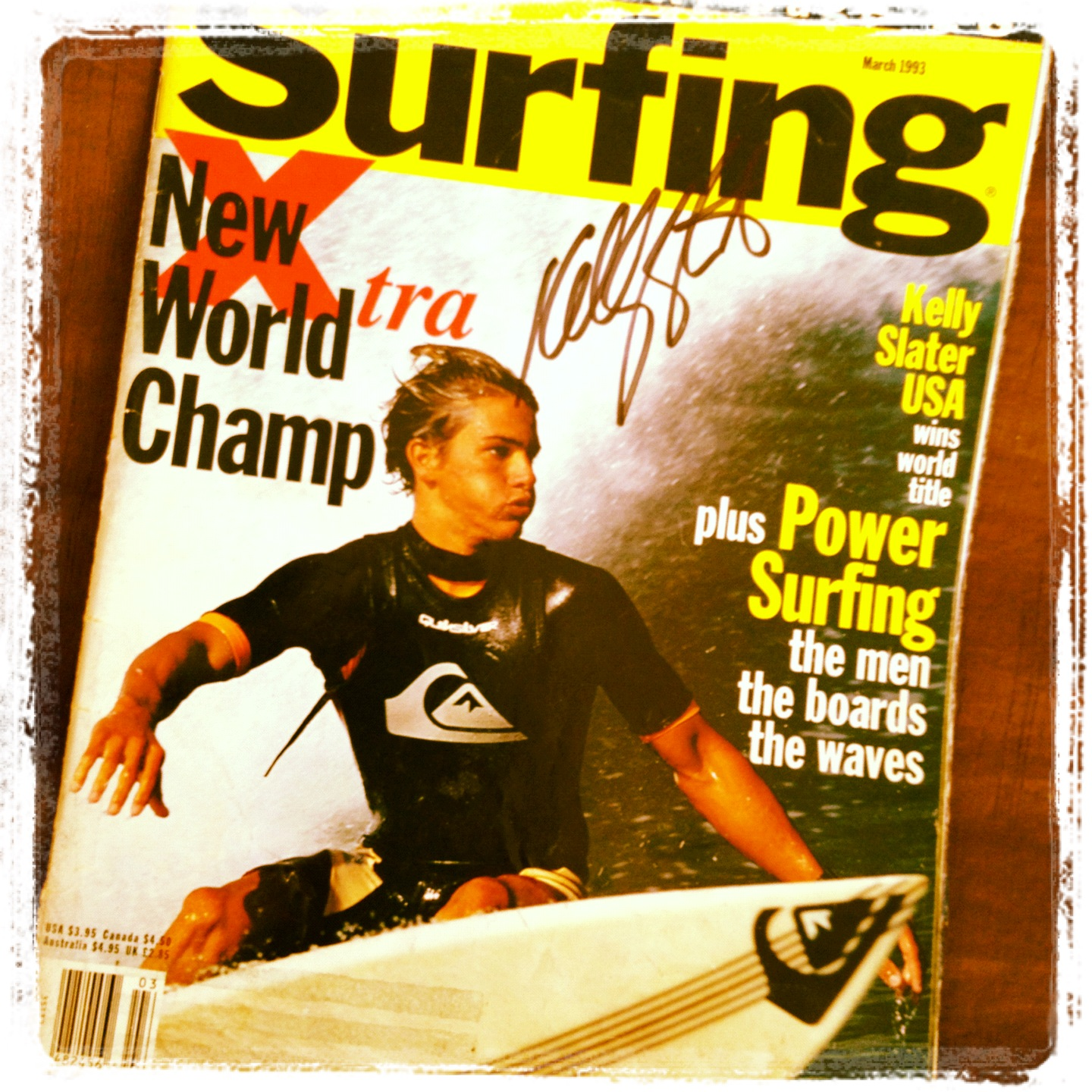 A Little Piece of Surfing History - World Title #1, 1992