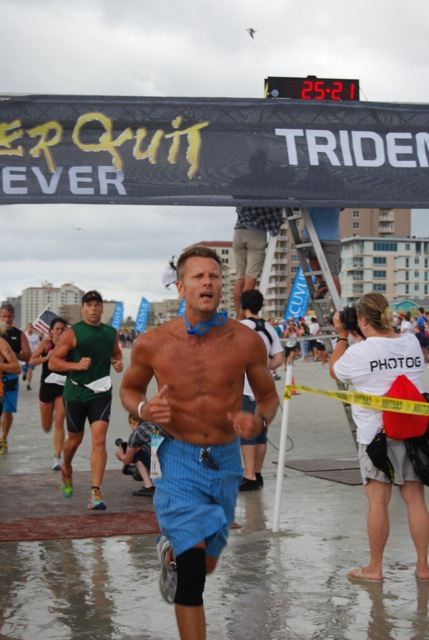 Never Quit Trident Solo, 2012 (Run/Swim/Paddle)