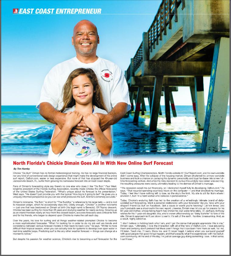 Recent Piece for Eastern Surf Magazine: DaBuh.com