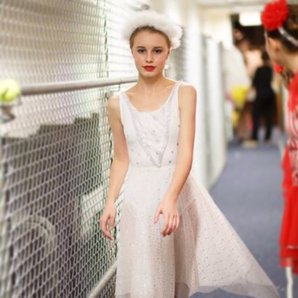 Backstage at the Nutcracker