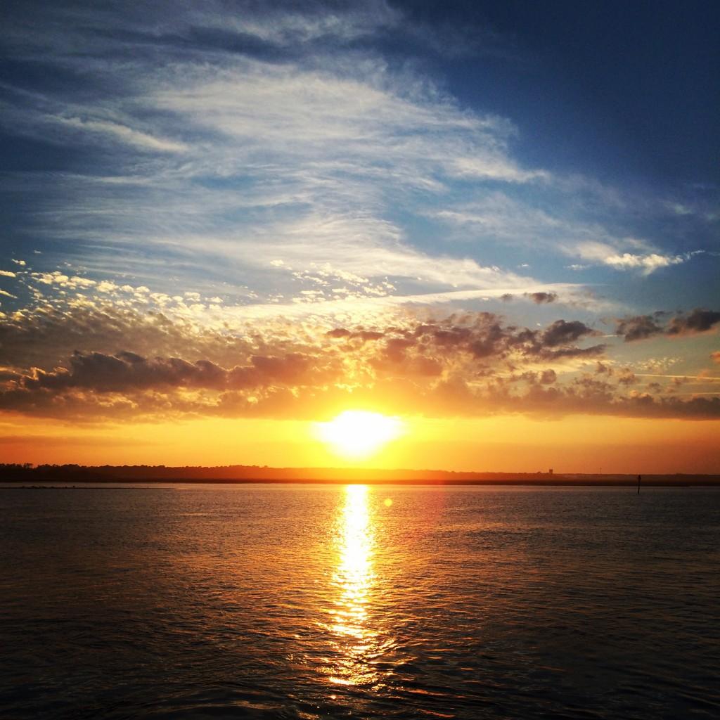 Florida sunset on the Intracoastal