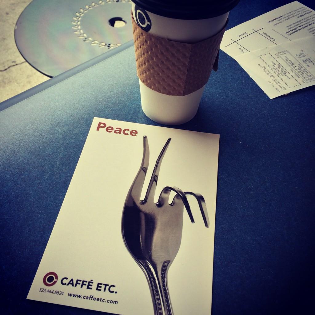 Caffe, Etc. in Hollywood, CA
