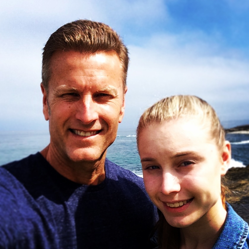 Tim and Kendall in La Jolla, Ca -  Good times!