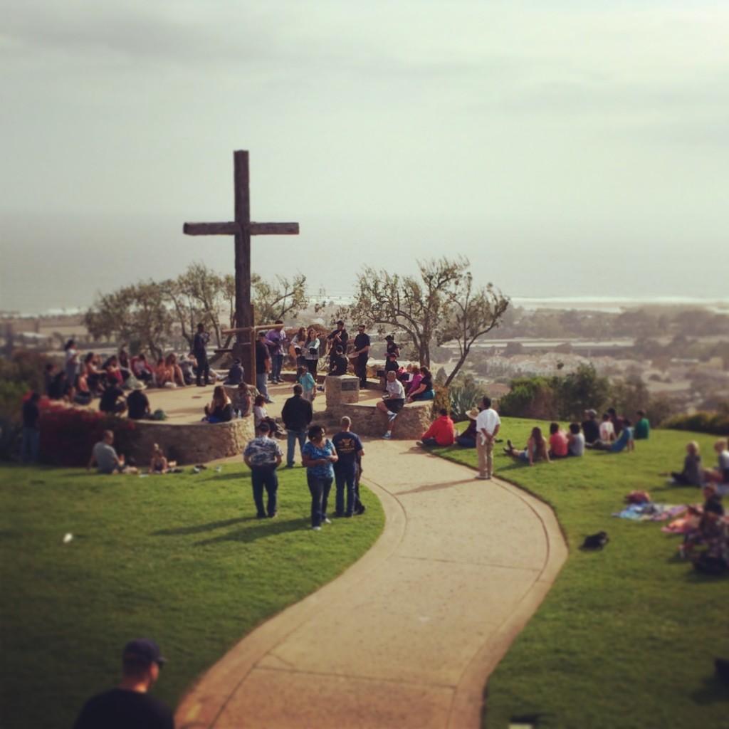 Ventura, Ca cliffside cross