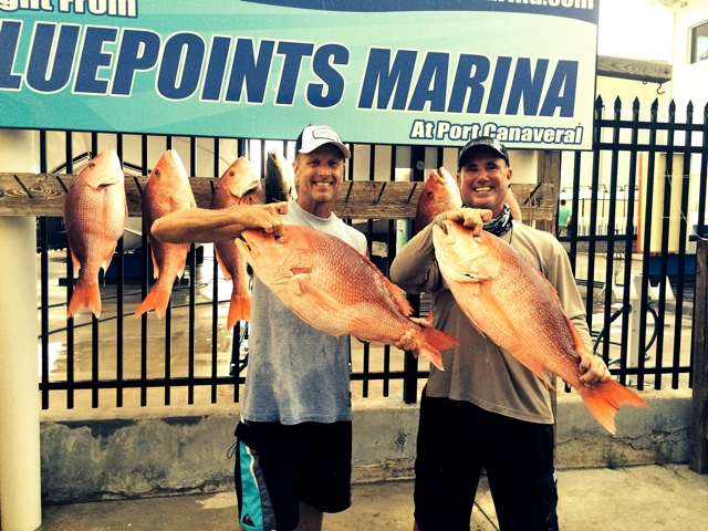 Red Snapper catch, Port Canaveral