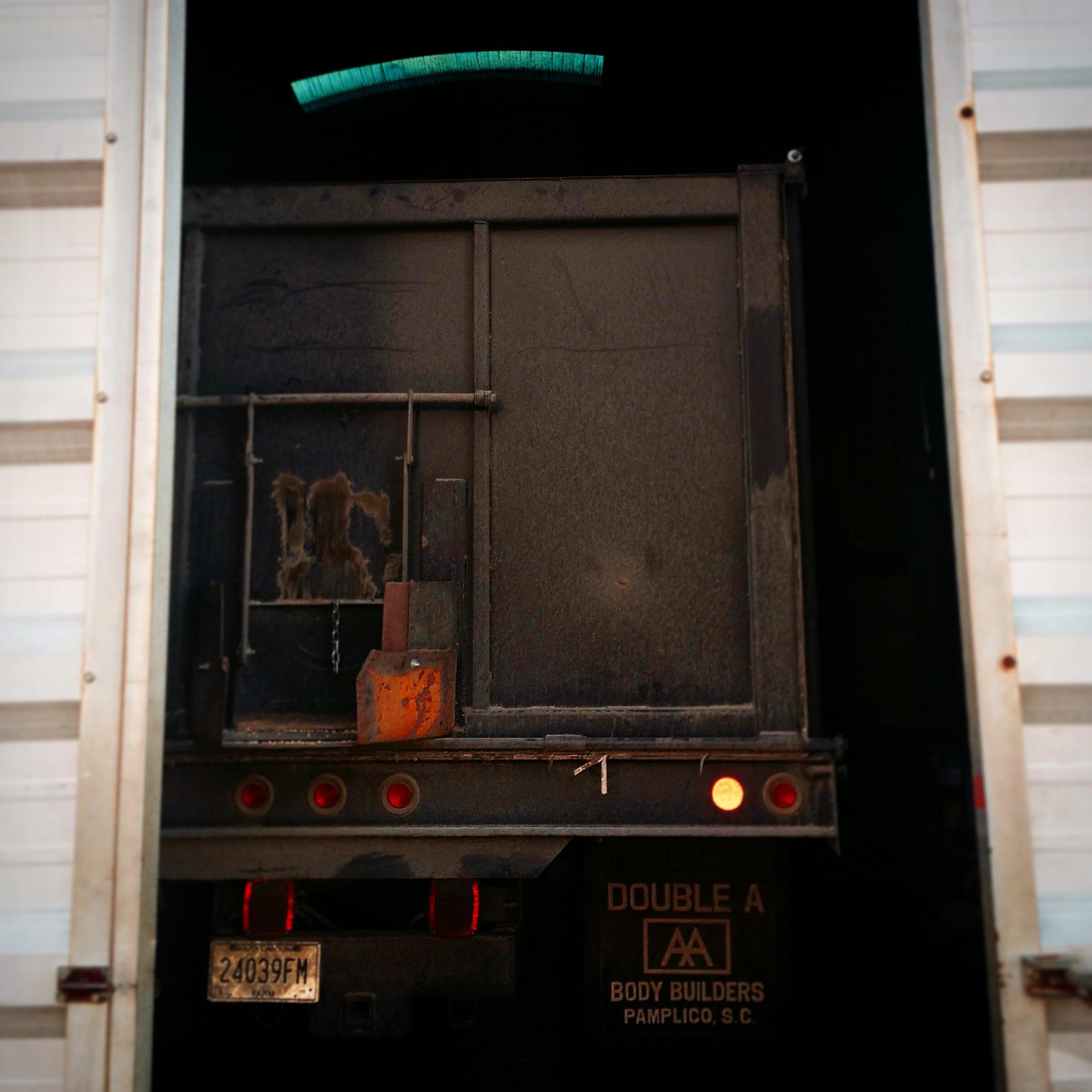 Truck on a farm