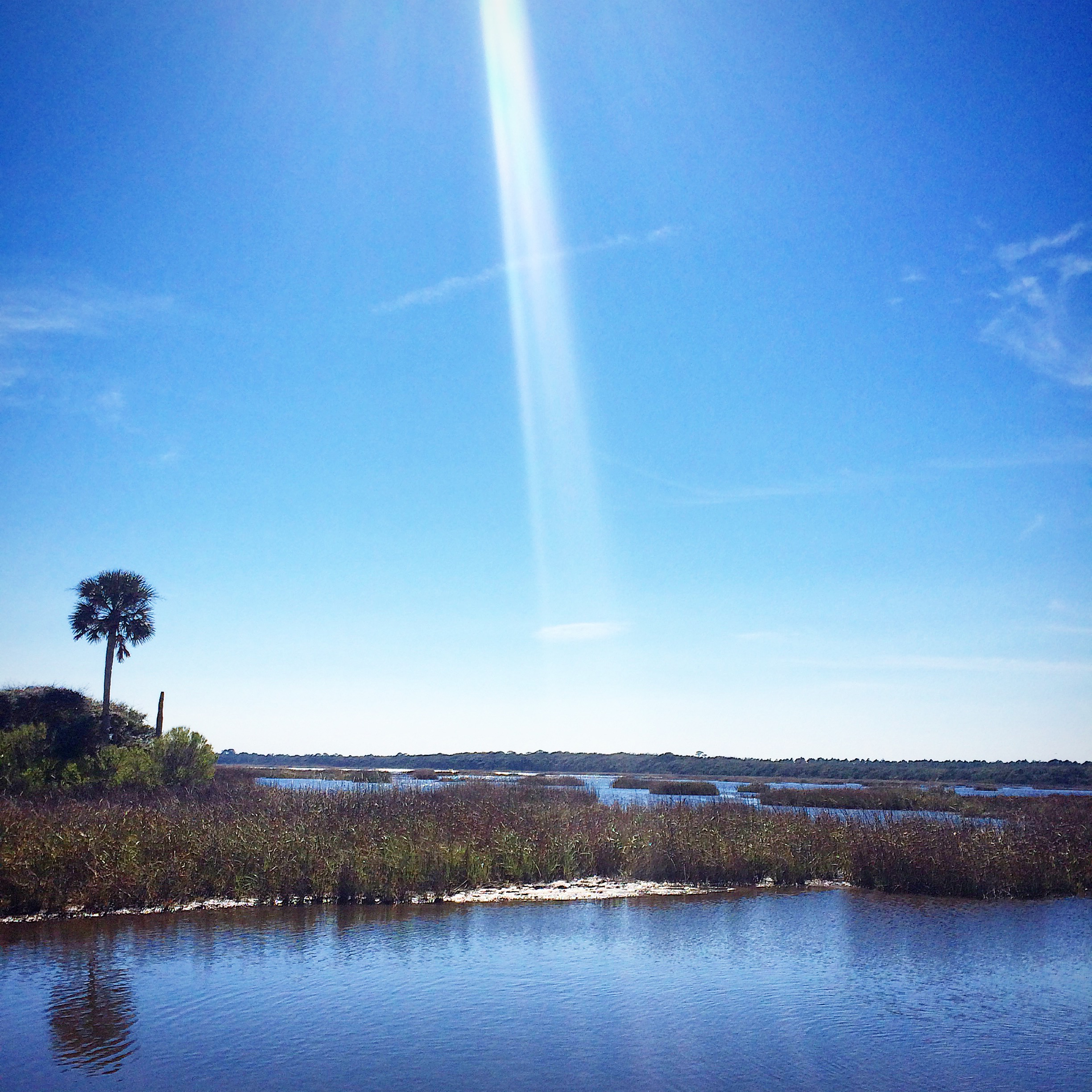 Sunshine on the Intracoastal Waterway