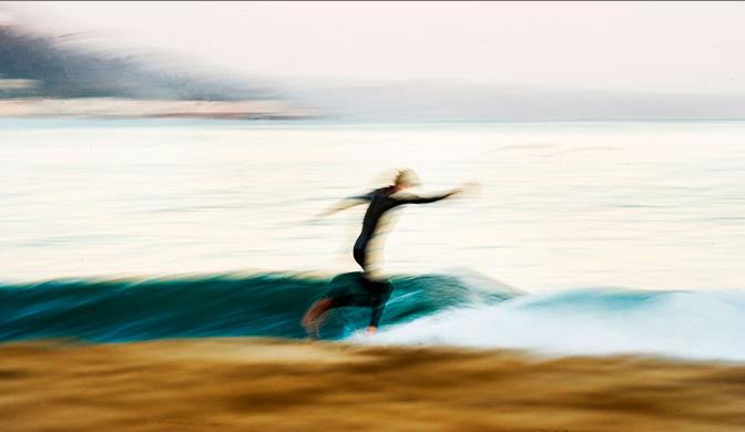 stylish surfer