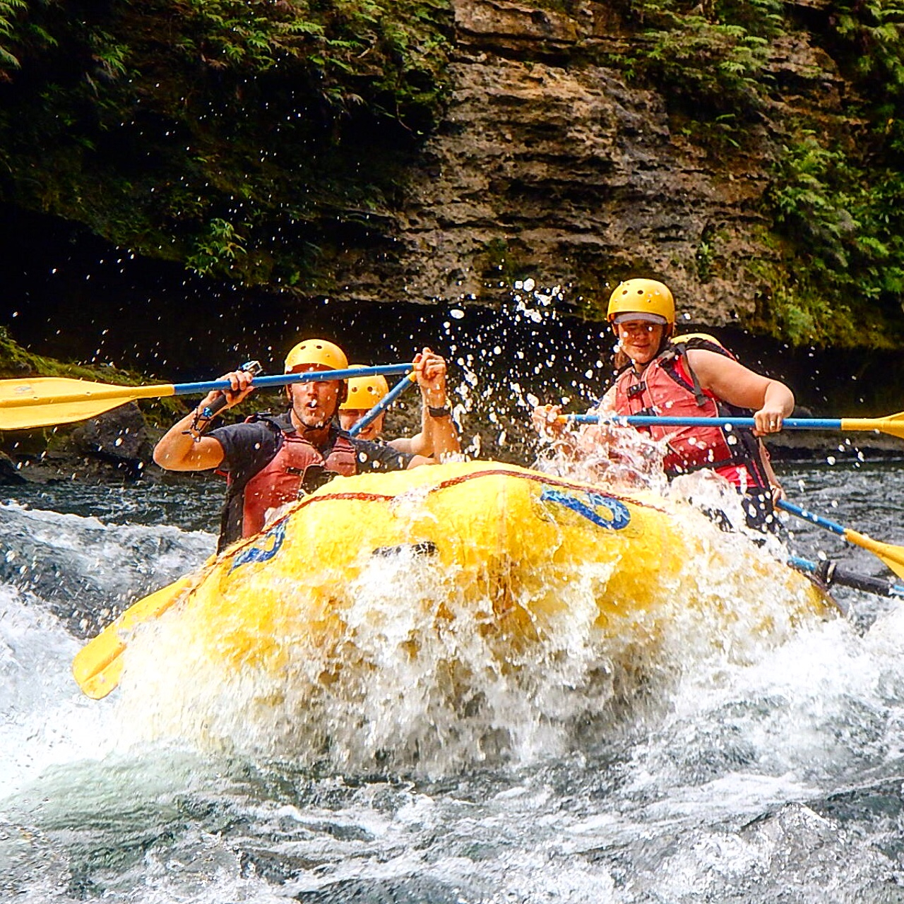 Navua River whitewater rafting