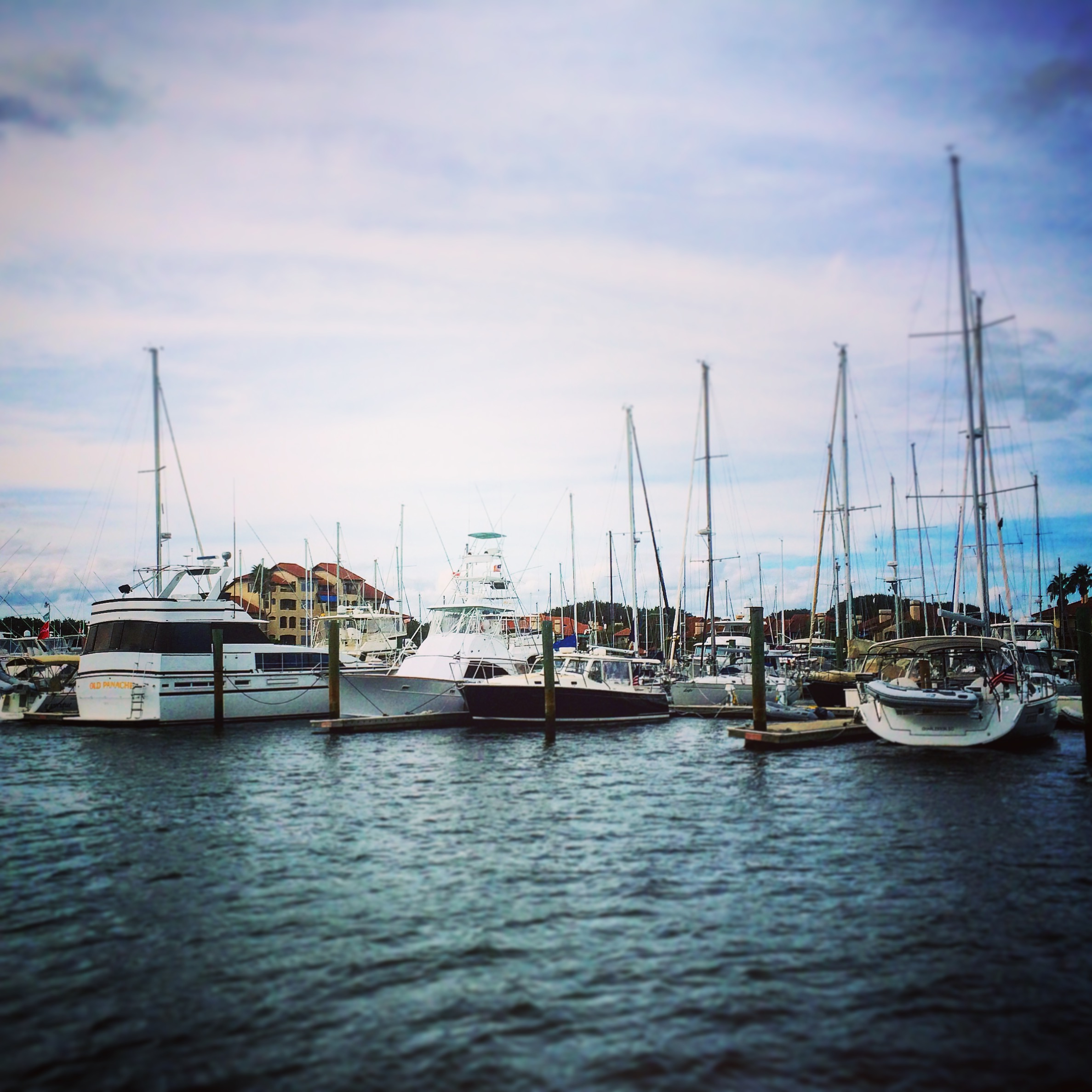 Boats at Camachee Cove Yacht Club , St. Augustine