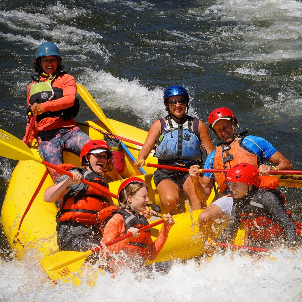 Whitewater rafting on the American River, Coloma, CA