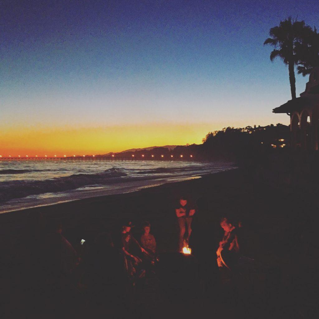 Beach Bonfire, Santa Barbara