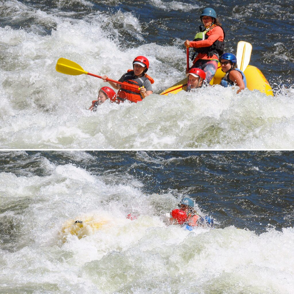 Whitewater Rafting, American River, Coloma , CA