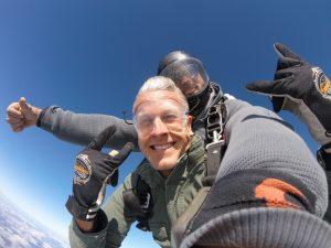 Tandem skydiving at Skydive City in Zephyrhills, FL